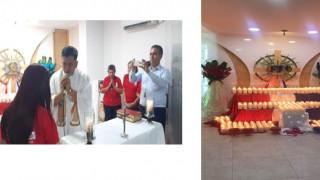 la Casa de la Misericordia María Auxiliadora en  Cúcuta celebró el Primer Aniversario de la Presencia de Jesús Eucaristía en la sede