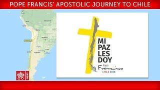 Papa Francisco Viaje Apostólico a Chile - Visita a la Universidad Católica