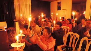 Vigilia de Adoración Mes de Diciembre