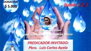 Hoy 5 de Diciembre, la sede San Juan Bosco de Chía celebra, Lluvia de Bendiciones