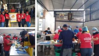 """Nuestra comunidad de la Casa de la Misericordia en Cúcuta : """"Un tiempo de servicio""""  en la  Casa de Paso Divina Providencia"""""""